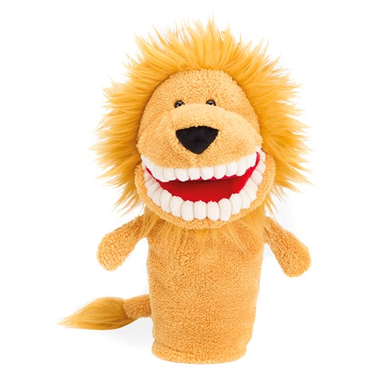 Jellycat Toothy Lion Hand Puppet Multi