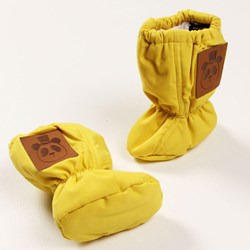 Mini Rodini Woven Boot Yellow