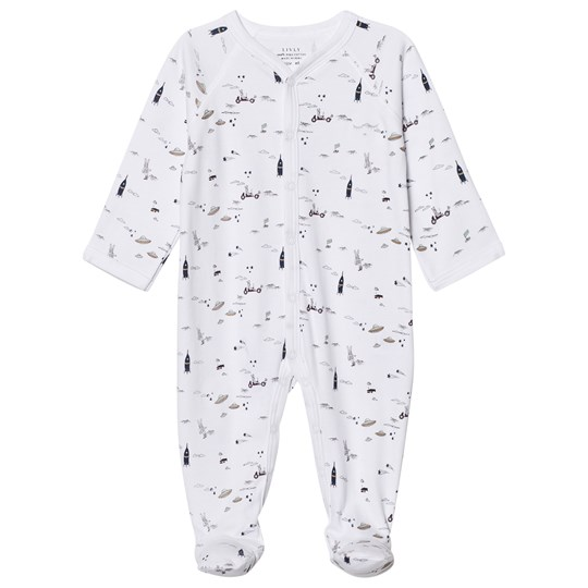Livly Footed Baby Body Space Land Space Land