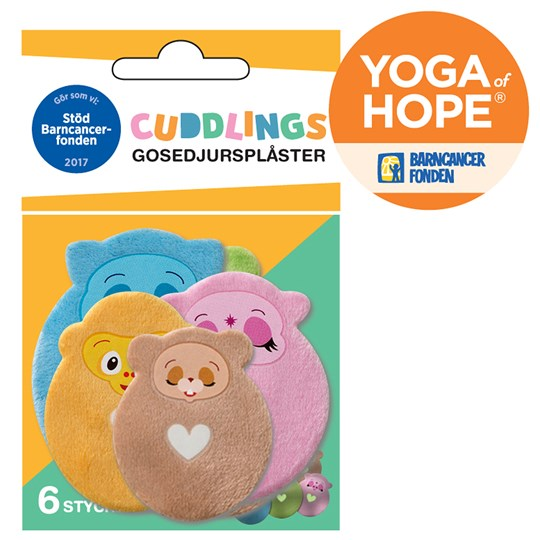 Tröstisar Cuddly Plasters Yoga of Hope Blue