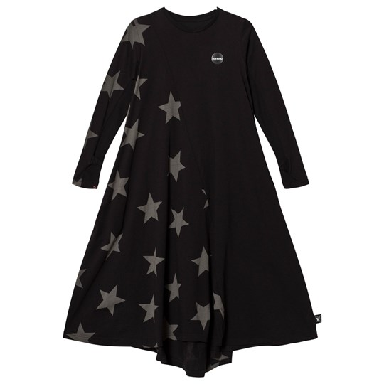 NUNUNU Maxi Star 360 Dress Black Black
