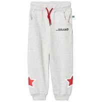 The BRAND Star Sweatpants Grey Melange Grey Mel With Black Stripe And Black Allstar