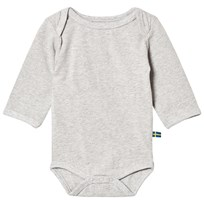 The BRAND Fringe Baby Body Grey Grey Melange With Black Fringe