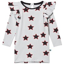 The BRAND Allstar Flounce Dress Red Allstar