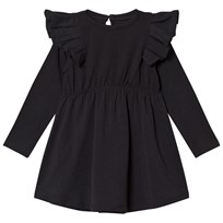 The BRAND Winde Flounce Dress Black Black