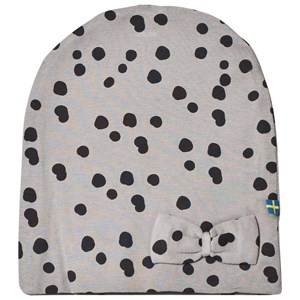 Image of The BRAND Bow Hat Grey Dot S (6-12 mdr) (2748605559)