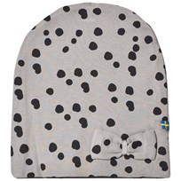 The BRAND Bow Hat Grey Dot Grey Dot With Bow