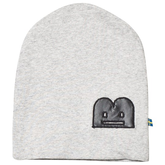 The BRAND B-Moji Hat Grey Melange Grey Mel With B-Moji