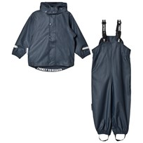 Ticket to heaven 2-Piece Rain Set with Detachable Hood Total Eclipse Total Eclipse