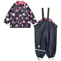 Celavi Rain Set with Fleece Lining Rapture Rose Rapture Rose