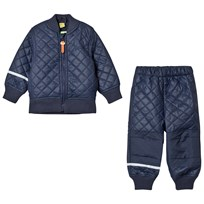 Celavi Thermal Set Dark Navy Navy