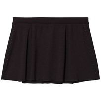 Bloch Black Bel Box Pleat Pearl Stud Skirt BLK