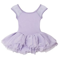 Bloch Lilac Benoit Vine Flock and Cap Sleeve Tutu Dress