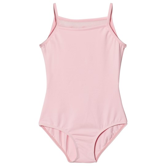 Bloch Pink Desaree Vine Flock and Bow Back Leotard CDP