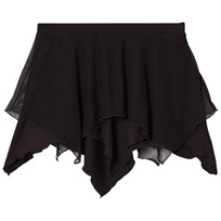 Bloch Black Dariel Soft Mesh Pixie Skirt BLK