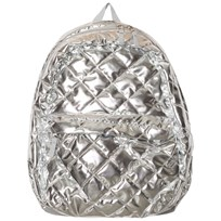 Lands End Silver Quilted Silver Backpack Silver Quilted 5QP