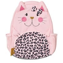 Lands End Pink Kitten Kids Critters Backpack Kitten 4AM