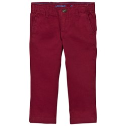Lands' End Red Twill Chino Trousers