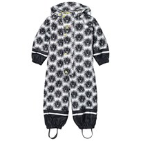 Kattnakken Lion Rainsuit with Lining Black Kattesvart