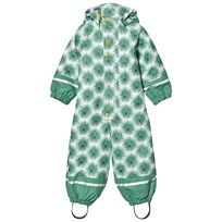 Kattnakken Lion Rainsuit with Lining Pistachio Green Pistasj