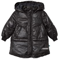 The BRAND Puff Parka Shiny Black SHINY BLACK