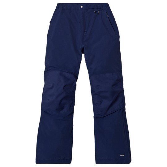 Lands' End Navy Girls Waterproof Squall Snow Pants Deep Sea HME