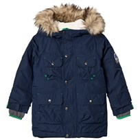 Lands End Navy Expedition Down Parka Regiment Navy 616