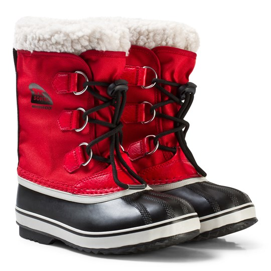 Sorel Yoot Pac™ Nylon Boots Rocket Red Rocket Nocturnal