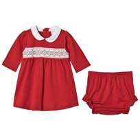 Kissy Kissy Red Smock Holiday Dress RD