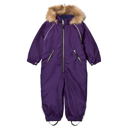 Ticket to heaven Snowsuit with Detachable Hood Purple Purple