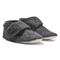 Celavi Wool Baby Shoes Deep Stone Grey Deep Stone Grey