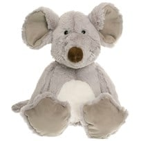 Teddykompaniet Dreamies Sitting Mouse Small Grey