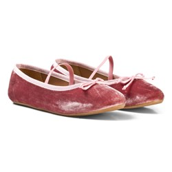 Flattered Ninette Dusty Rose Velvet