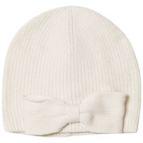 Ralph Lauren Cream Bow Skull Hat 001