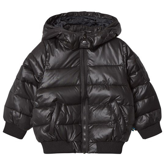 The BRAND Lack Puff Jacket Shiny Black SHINY BLACK