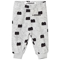 The BRAND B-Moji Fleece Pants Grey Melange Grey Mel With B-Moji AOP