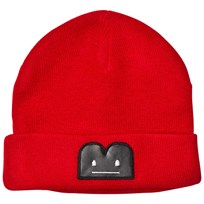 The BRAND B-Moji Knit Hat Red Red Mel With Reflex B-Moji