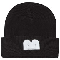 The BRAND B-Moji Knit Hat Black Black With Reflex B-Moji