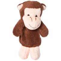 Teddykompaniet Monkey Finger Puppet Mix