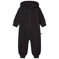 The BRAND Bolt Onesie Black Black With White Brand and BlackPink Bolt