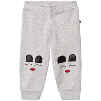 The BRAND Baby Face Pants Grey Grey Mel With Face