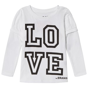 Image of The BRAND Love Kiss Tee White 92/98 cm (980701)