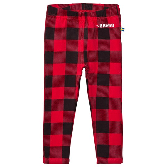 The BRAND Leggings Checkered Red Checkered Red