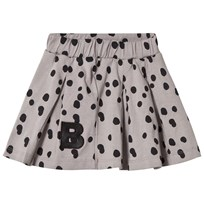 The BRAND Plisé Skirt Grey Dot Grey Dot