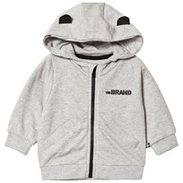 The BRAND Baby Face Hoodie Grey Melange B-Moji Grey Mel With B-Moji