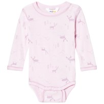 Joha Baby Body Long Sleeve Pink 3028