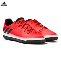 adidas Performance Red Messi 16.3 Turf Football Boots Red