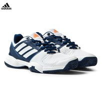 adidas Performance Barricade Club Shoes Mystery Blue/White MYSTERY BLUE