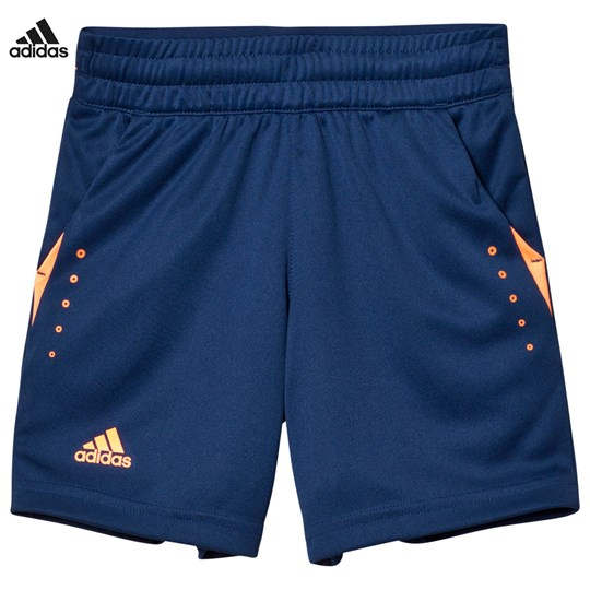 adidas Performance Navy Barricade Tennis Shorts MYSTERY BLUE