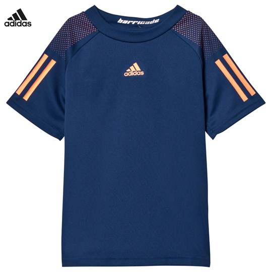 adidas Performance Navy Barricade Tennis Tee MYSTERY BLUE